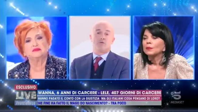 Follia a Live, la figlia di Wanna Marchi a Nuzzi: tagliati le p...