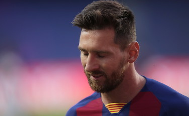 They don't force me to leave.  Bartomeu did not keep his promises.  Messi can't stand it anymore