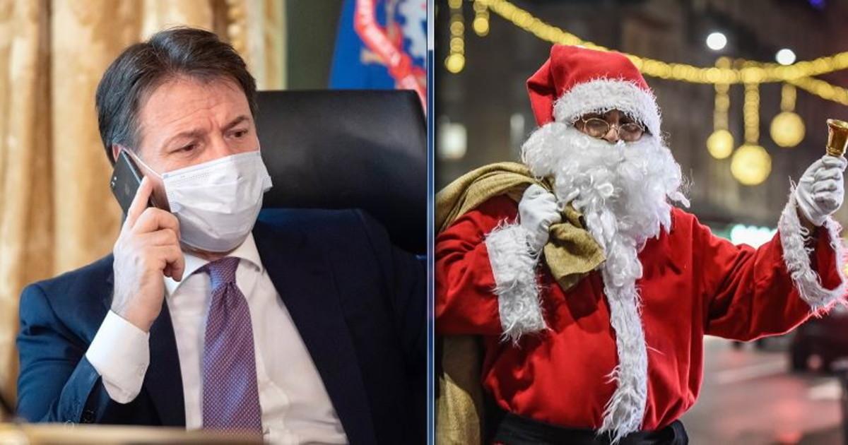 Il Babbo Natale.L Ultima Di Conte Ora Parla Direttamente Con Babbo Natale Il Tempo
