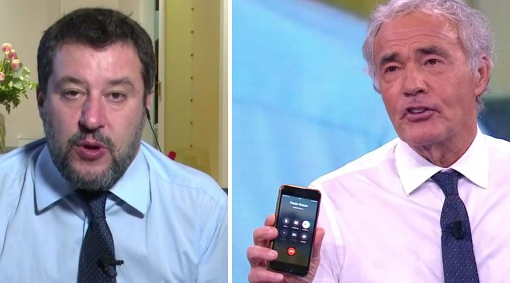 Non è l'anello, Salvini congeda De Luca: L'omino.  Caso Campania, chiama Geletti ma il relatore ...