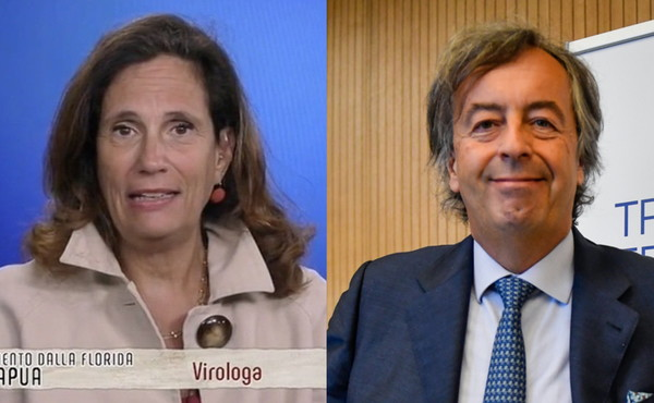 I vaccinati trasmettono il Covid? Guerra dei virologi tra Ilaria Capua e Burioni
