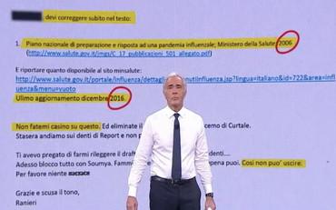 """Scandalo Oms, Giletti mostra le email bomba: """"Non fatemi casino"""", firmato  Ranieri. Che fine fa il piano pandemico – Il Tempo"""