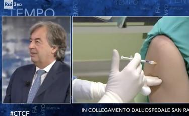 Fabio Fazio lancia il reality sui vaccini. L'iniezione dal vivo rompe i social media