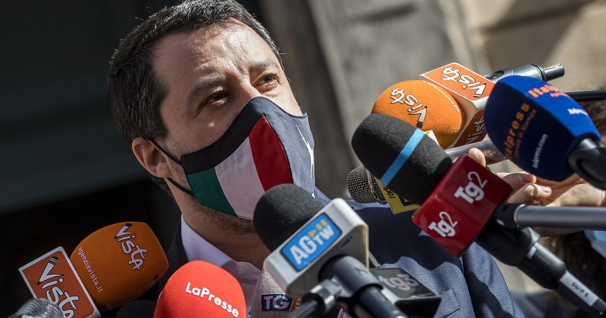 Salvini sbotta: via gli scienziati di Conte. In un anno capaci solo di guai  – Il Tempo