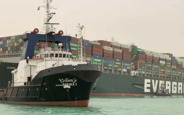 Nave Ever Given disincagliata. Canale di Suez verso la riapertura