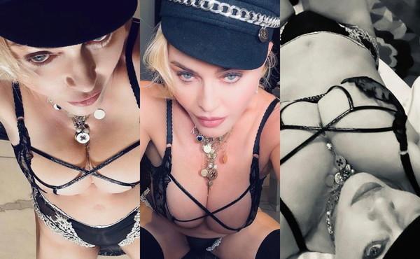 Madonna risponde alle polemiche a colpi di bondage. Le foto estreme