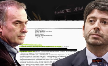 The e-mail scandal of Guerra a Speranza: Minister, that report will do damage