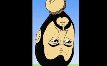 Salvini decapitato, la vignetta dell'orrore. E lui chiede ai follower: