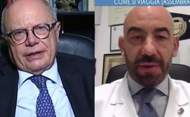 Pace fatta tra Bassetti e Galli. Tutto merito del vaccino ai bambini: maestro dell'infettivologia