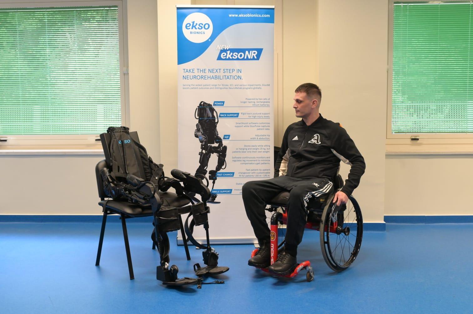 Esoscheletro robot per la riabilitazione delle gambe - Il ...