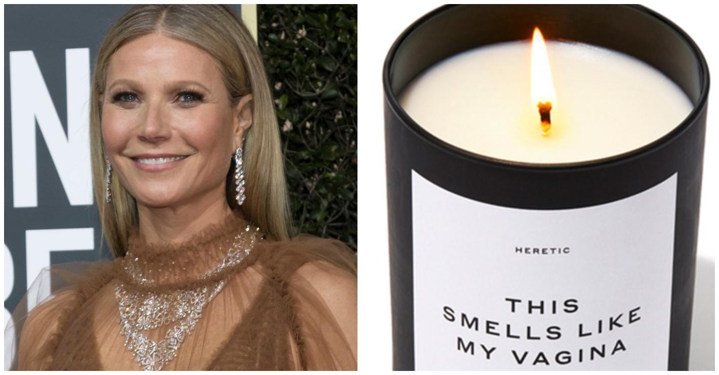 Gwyneth Paltrow, la sua candela alla vagina infiamma i