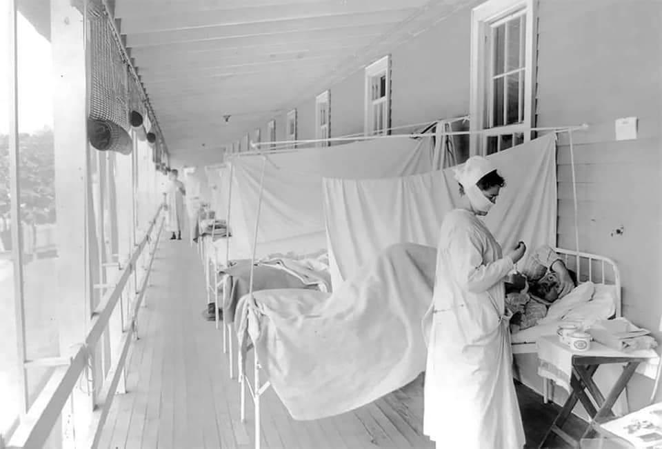La pandemia di influenza spagnola, quando anche ai gatti veniva messa la  mascherina... – Il Tempo